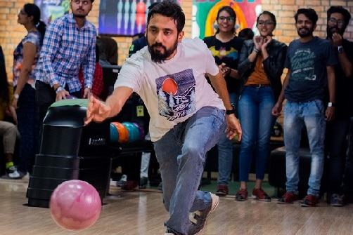 Bowling in Bangalore