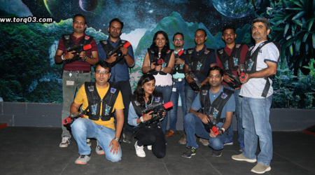 A Laser Tag Birthday Party – Fun With Learning!